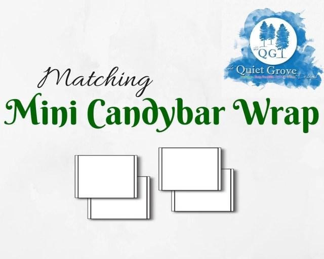 Matching MINY CANDYBAR WR...