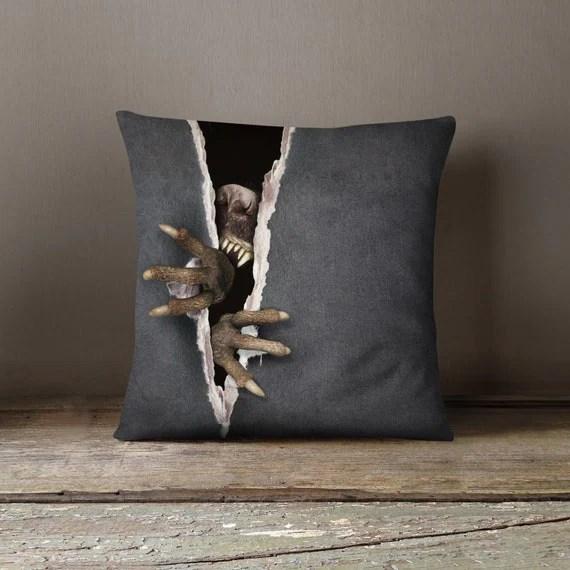 Creepy Halloween Pillow