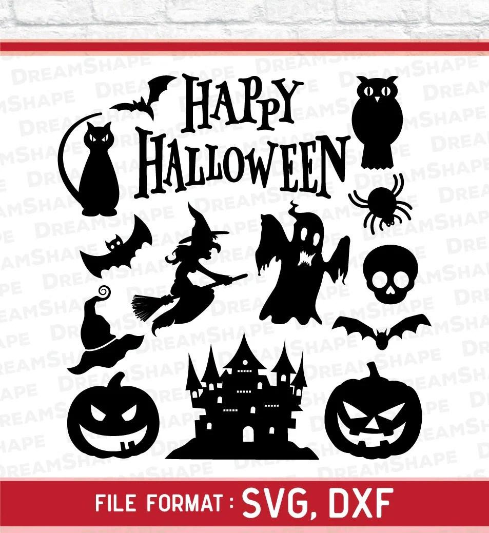 Download Halloween SVG Files Happy Halloween SVG Cut Files Halloween