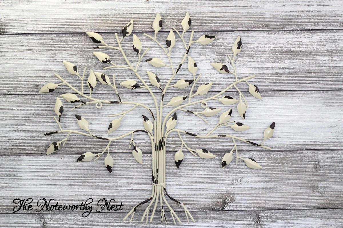 Chippy Tree Wall Art // Tree Wall Hanging // By