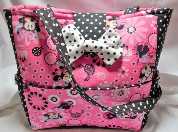 Pink Minnie Mouse Diaper Bag Minnie Mouse Tote Bag Purse