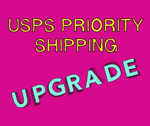 USPS Priority Mail 3-Day Shipping Upgrade by OctostacheCrafts