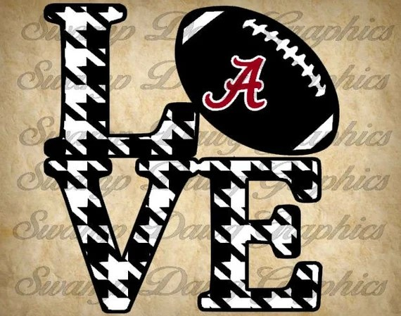 Download Alabama Love svg alabama roll tide svg football svg
