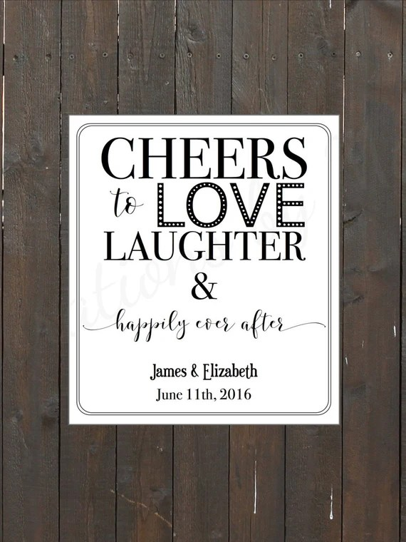 Download Cheers to Love Laughter Happily Ever After by ...