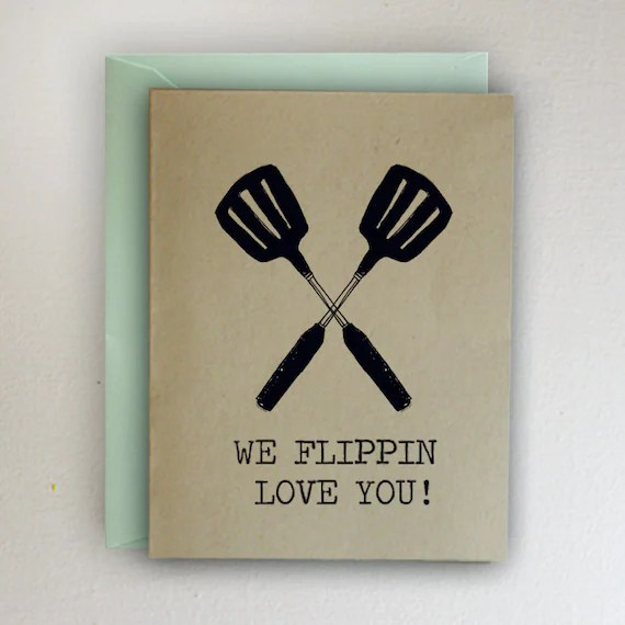 Download We flippin love you Happy Father's Day Card