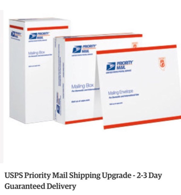 USPS PRIORITY SHIPPING 2-3 day upgrade by LittleHeartsCo ...