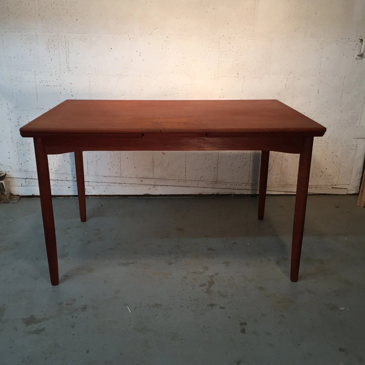 danish mid century modern teak dining table 725 obo free nyc