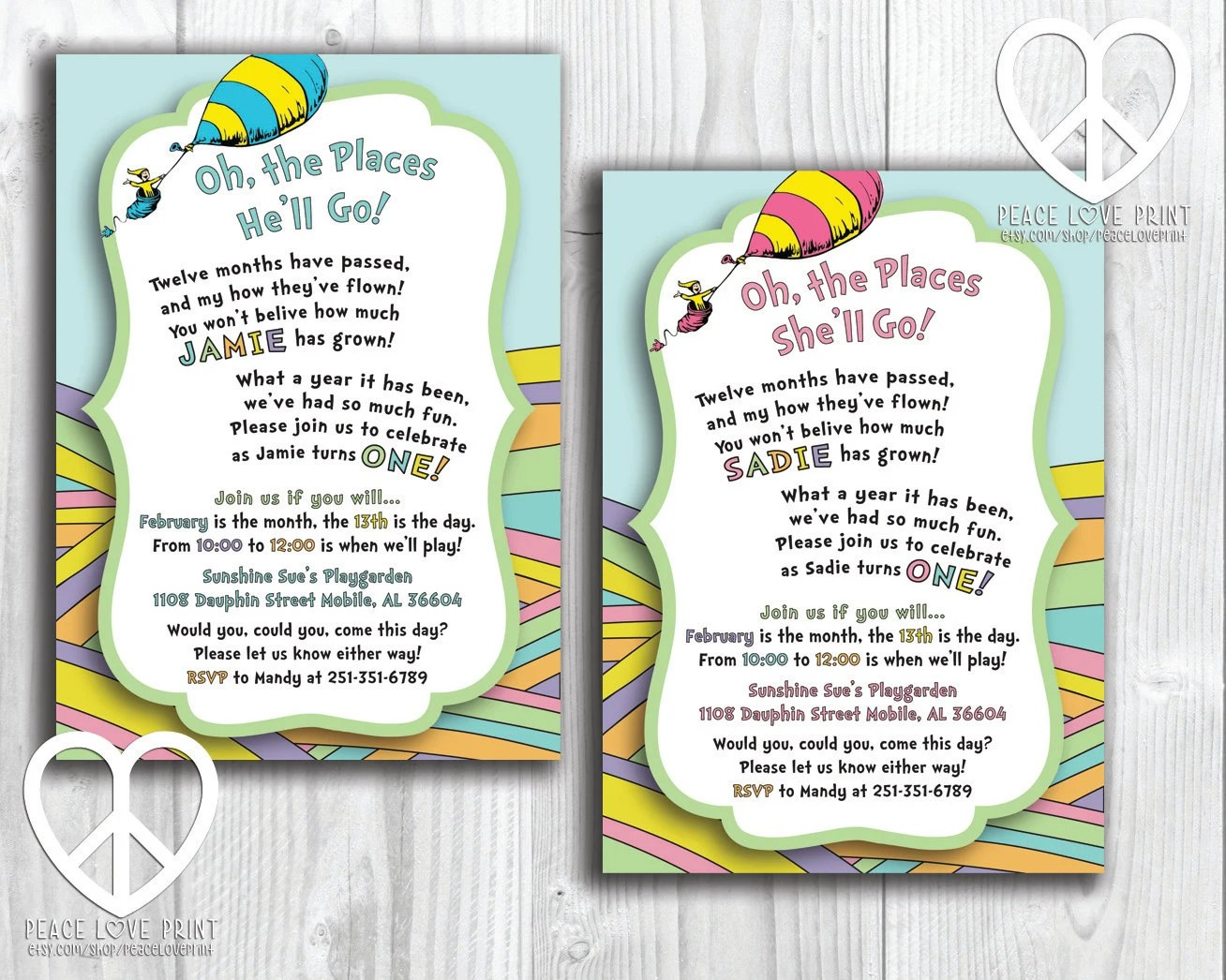 Places Get Invitations Printed