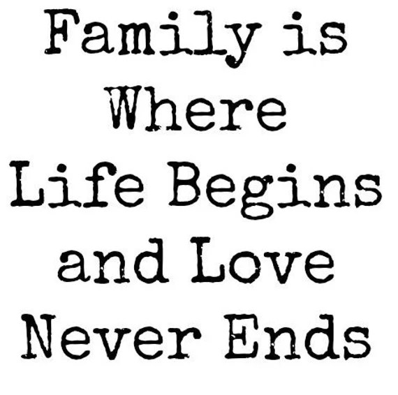 Download Items similar to Family is Where Life Begins and Love ...
