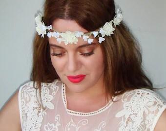 flower girl headpiece headband flower girl hair