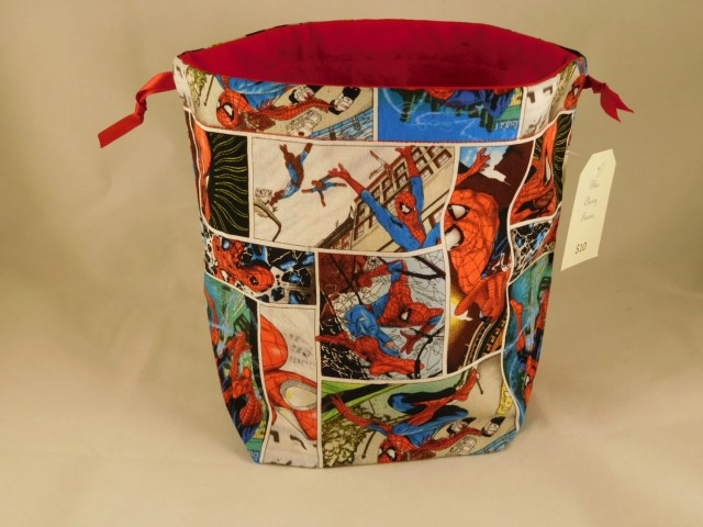 Spiderman drawstring bag ...