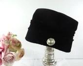 Vintage Mid Century Black...