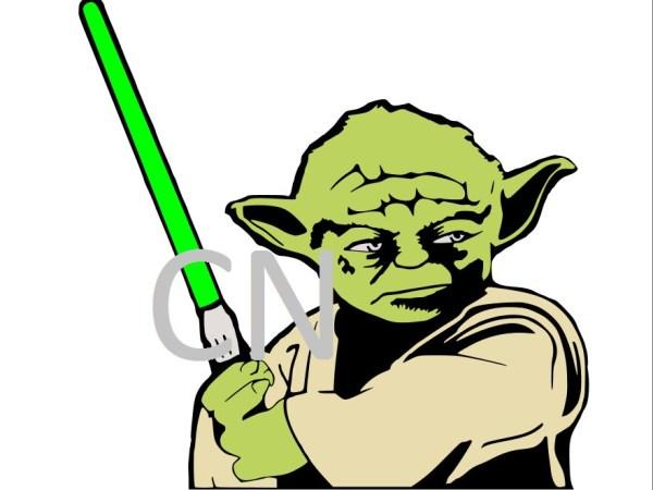 Yoda- Star Wars SVG from HandMadeMemoriesbyCN on Etsy Studio