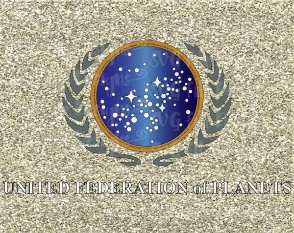 Star Trek United Federation of Planets Emblem / by ...