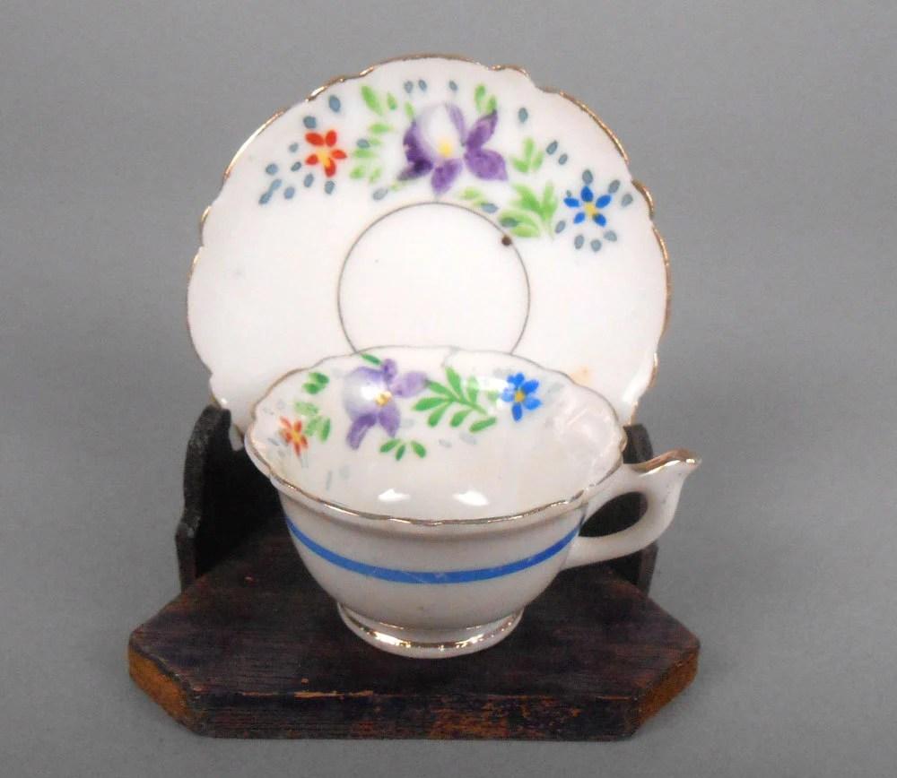 Miniature And Made Teacup Saucer Japan Trademarks