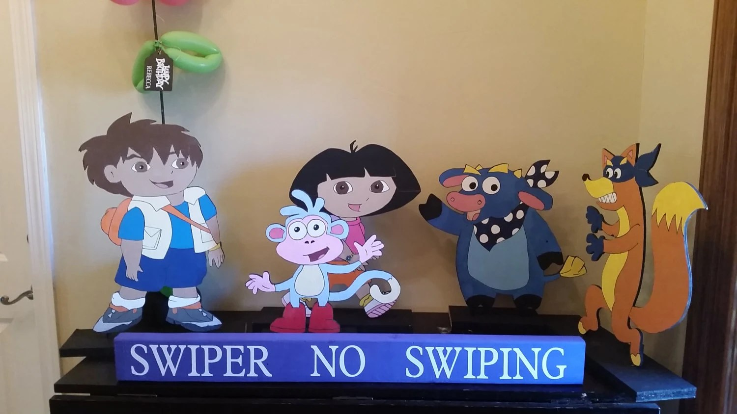 Dora The Explorer Wooden Cutouts Dora The Explorer Standees