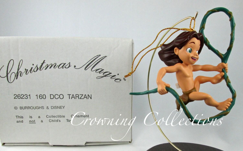 Disney Tarzan Ornament Grolier Christmas Magic Swinging In