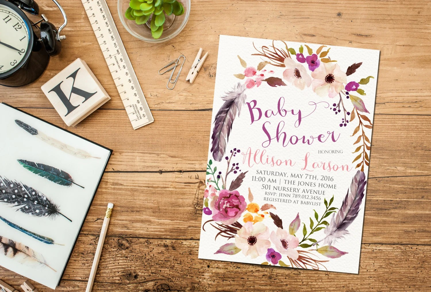 Baby Shower Invitations Not Knowing Gender