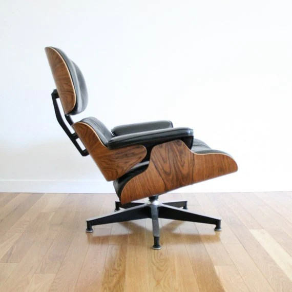 Mid Century 670 Eames Lounge Chair
