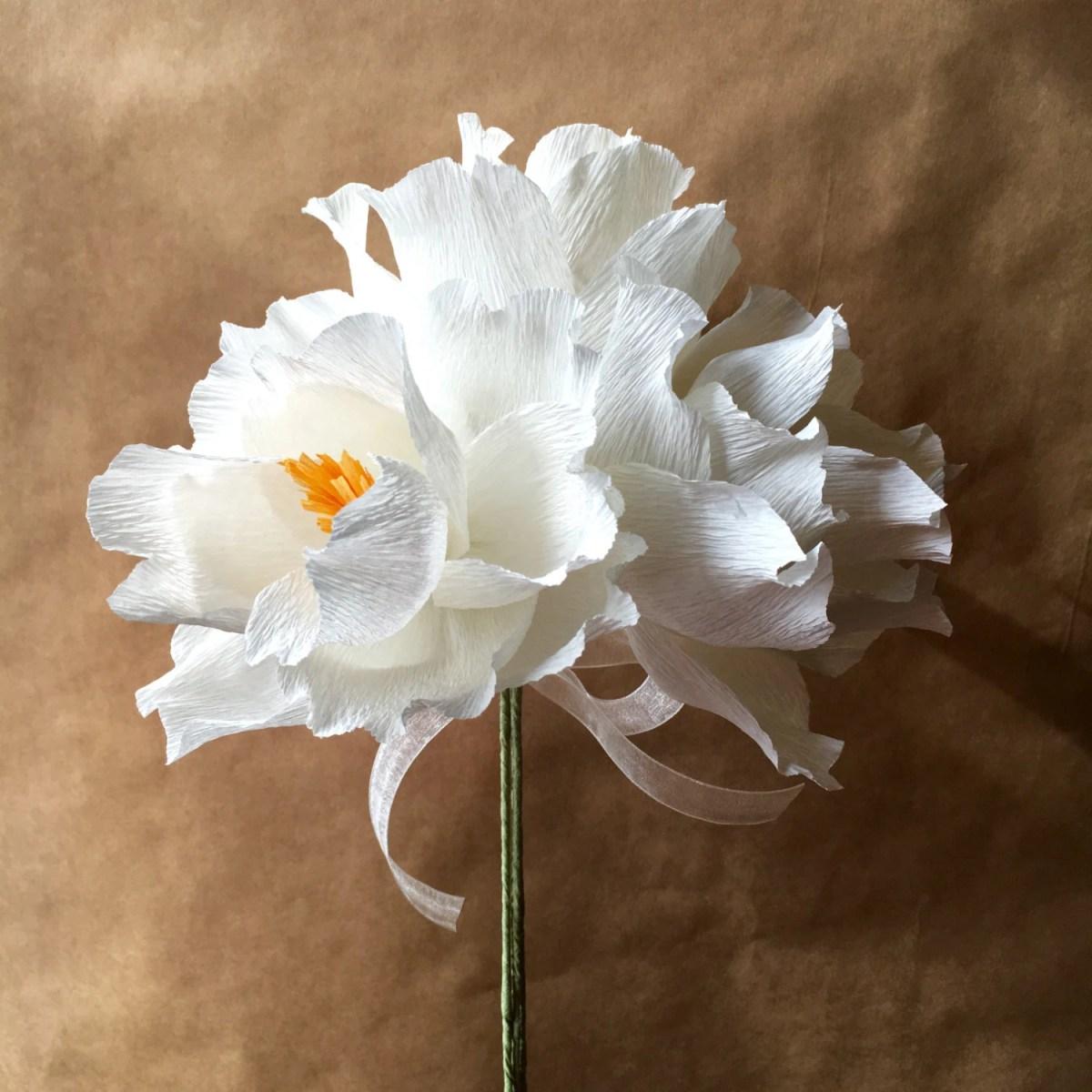 Magnolia Paper Flower Bouquet