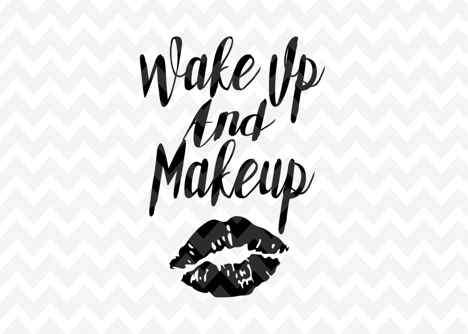 Makeup Quote Makeup Svg Quote Overlay Motivation Svg