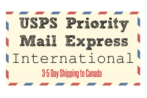 SHIPPING UPGRADE USPS Priority Mail Express International