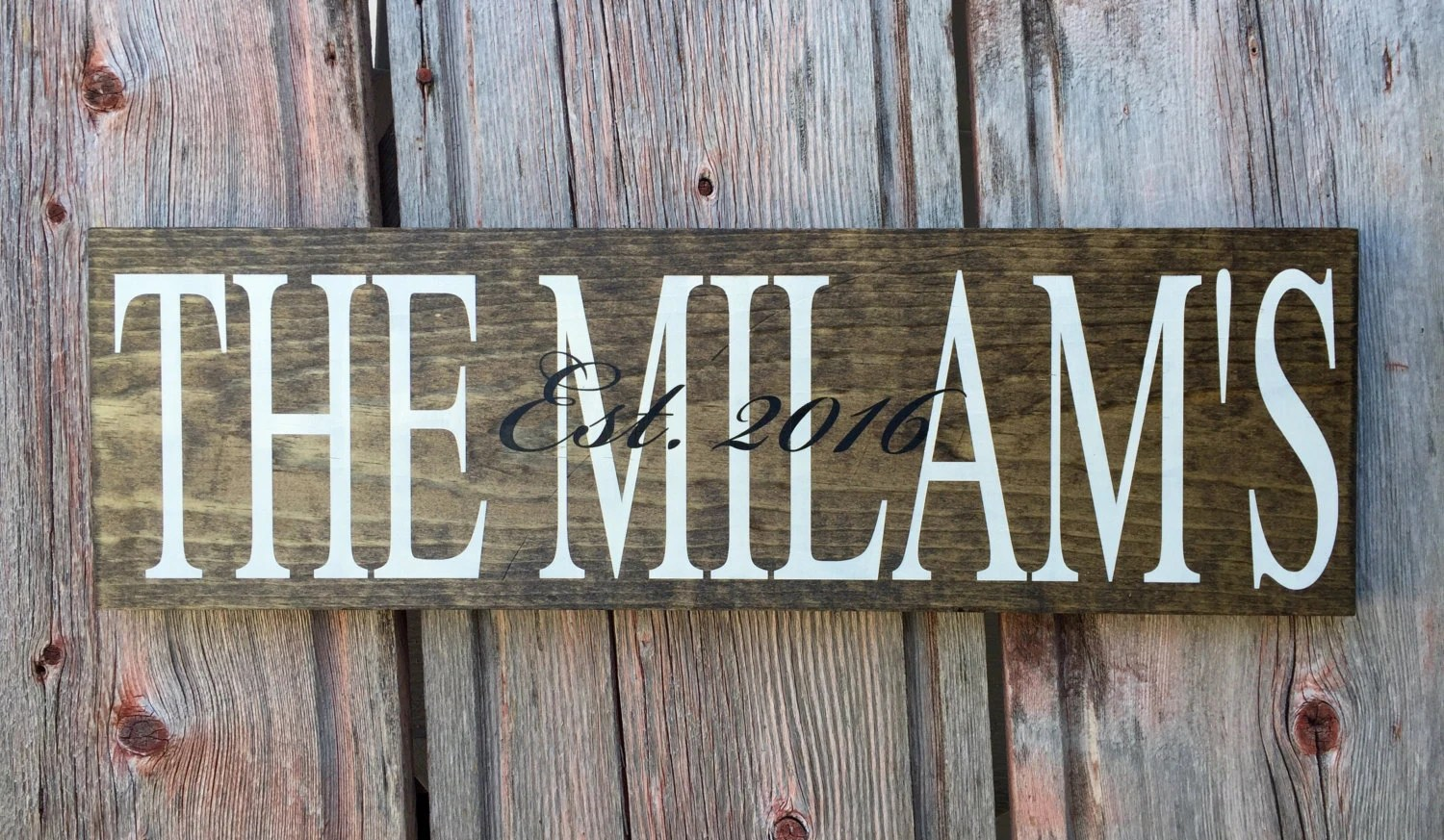 Personalized Last Name Sign Signs Home Wall Decor Home on Home Wall Decor Signs id=86366