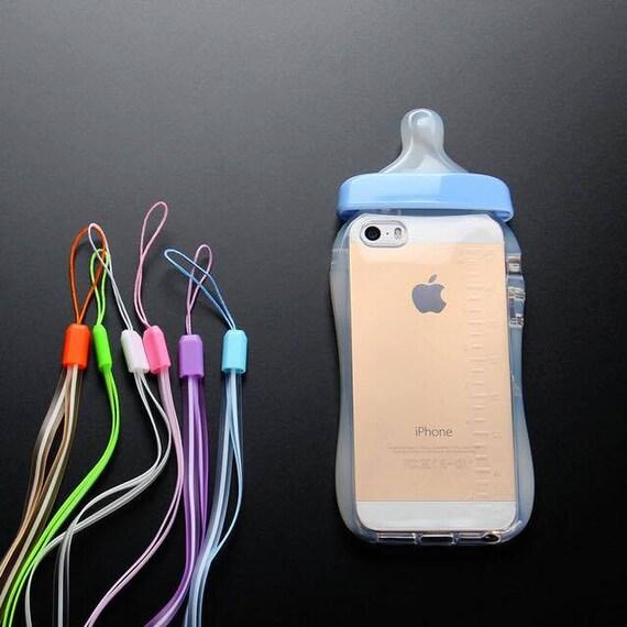 Blue Baby Bottle Kawaii Iphone 6/6s Case by MissPurpleVelvet
