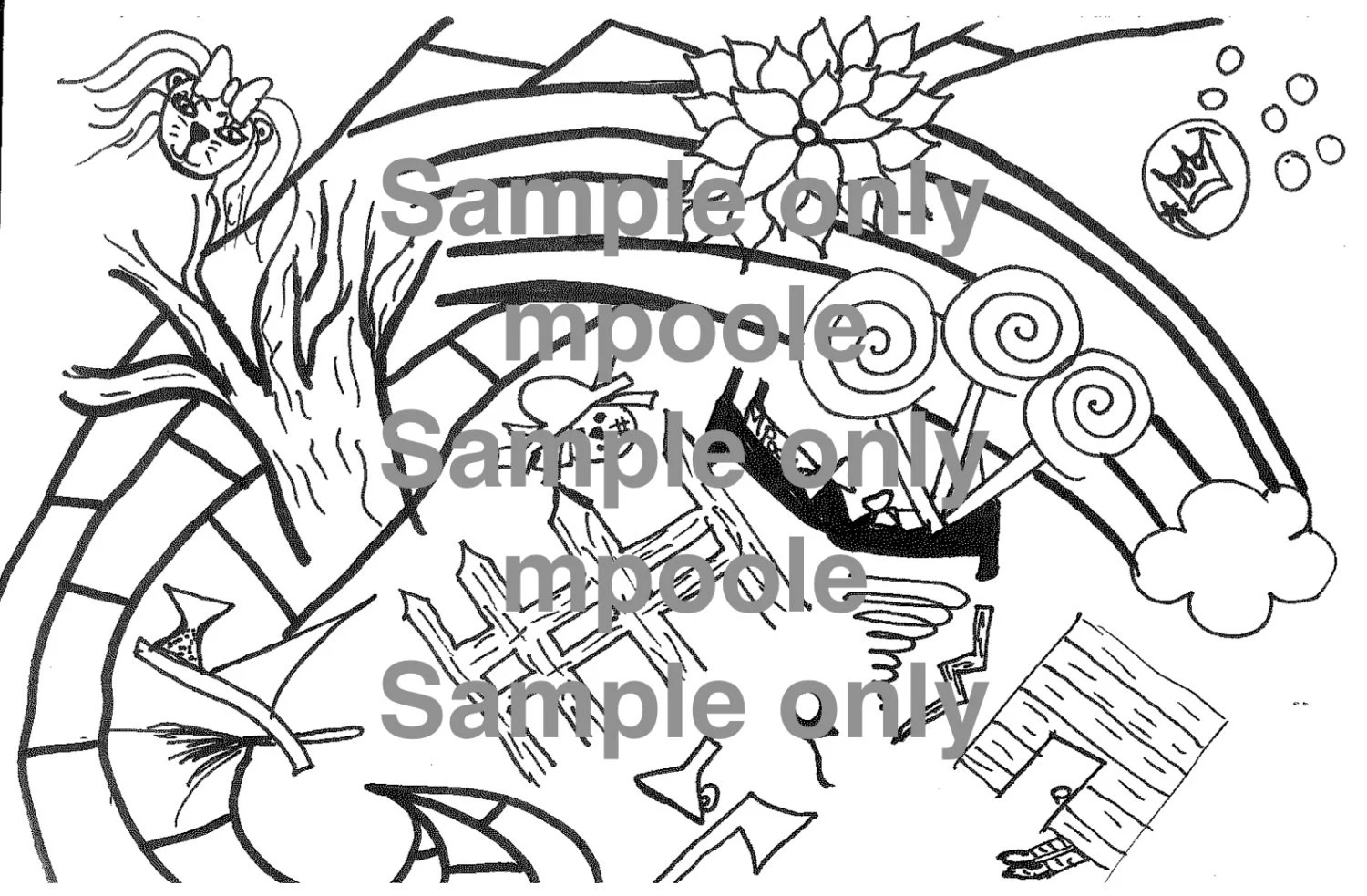 Wizard Of Oz Coloring Adult Coloring By Simplybeautyfulevv