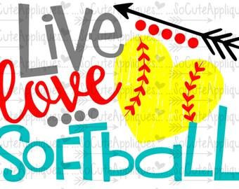 Download Softball svg | Etsy