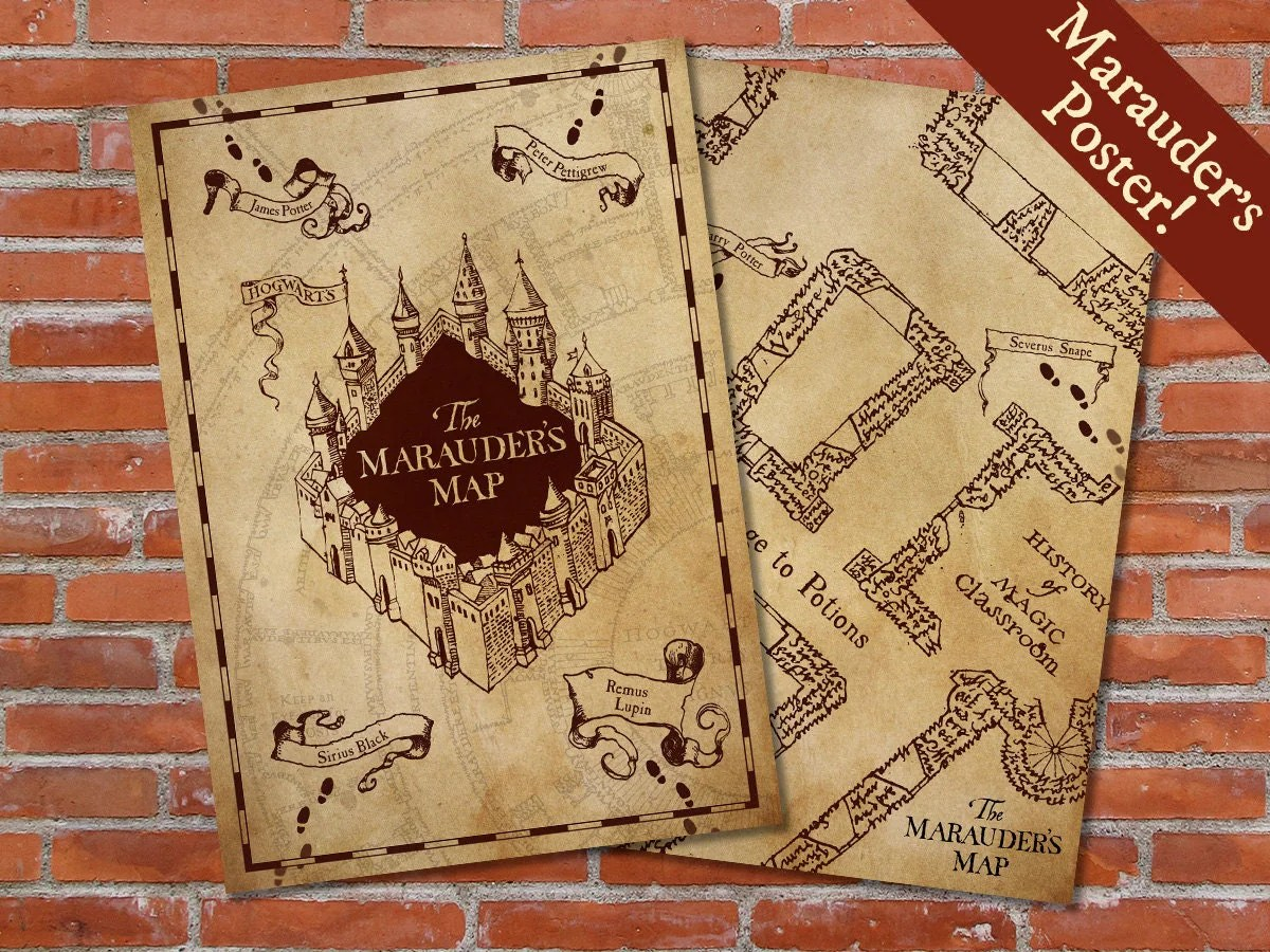 Worksheet Map Harry Potter
