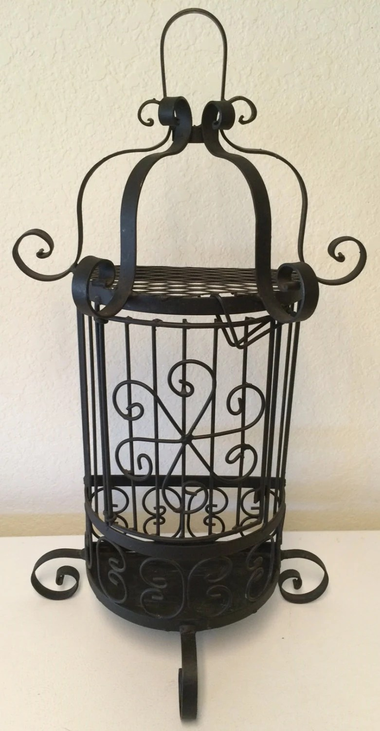 Vintage Wrought Iron Sconce wrought iron candle holder on Antique Wrought Iron Wall Candle Holders id=33358
