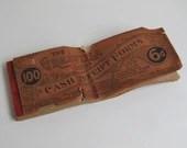 Antique Cash Receipt form...