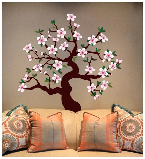 Cherry Blossom Tree Decal by DigiflareGraphics