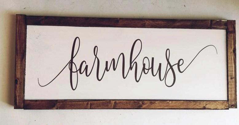 Custom Framed Farmhouse S...