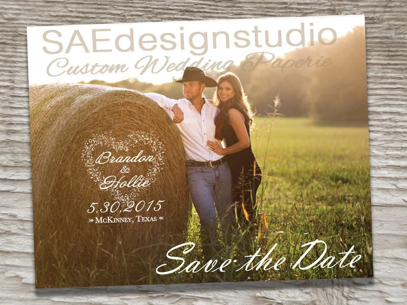 Save Date Postcard Ideas