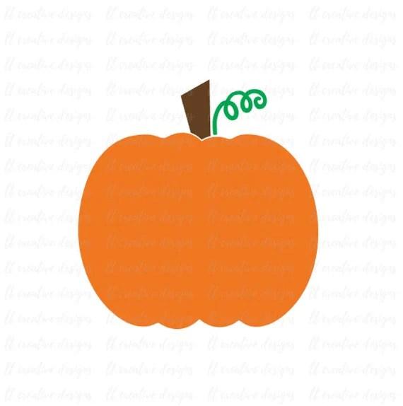 Download Pumpkin SVG Pumpkin Cut File Silhouette Cut File Cricut Cut