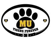 DECAL - MU Tigers Furever...