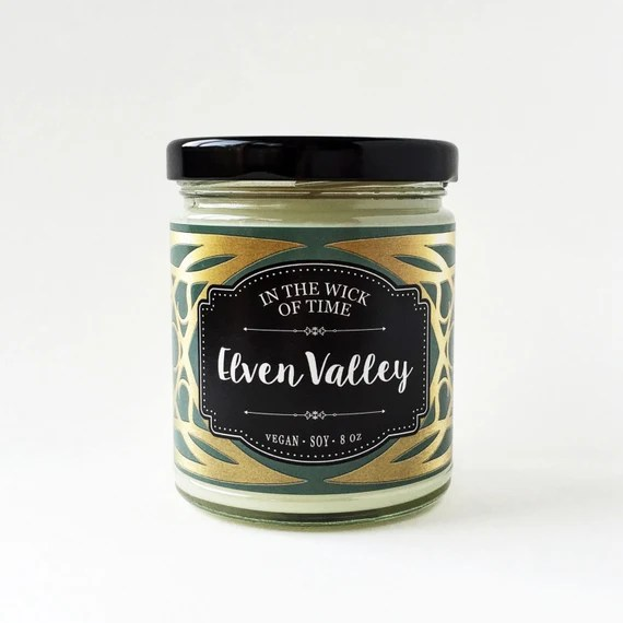 Elven Valley | Scented Vegan Soy Candle |