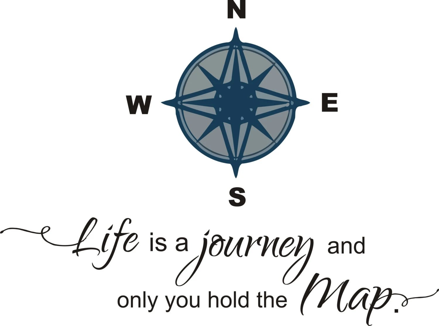 Life Is A Journey And Only You Hold The Map By Southwestdesignshop