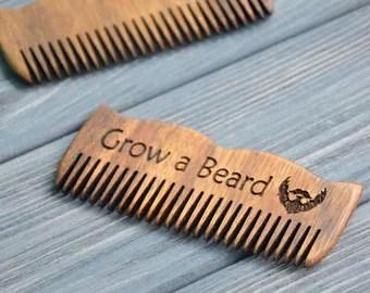 personalized beard b custom engraved wooden by enjoythewood