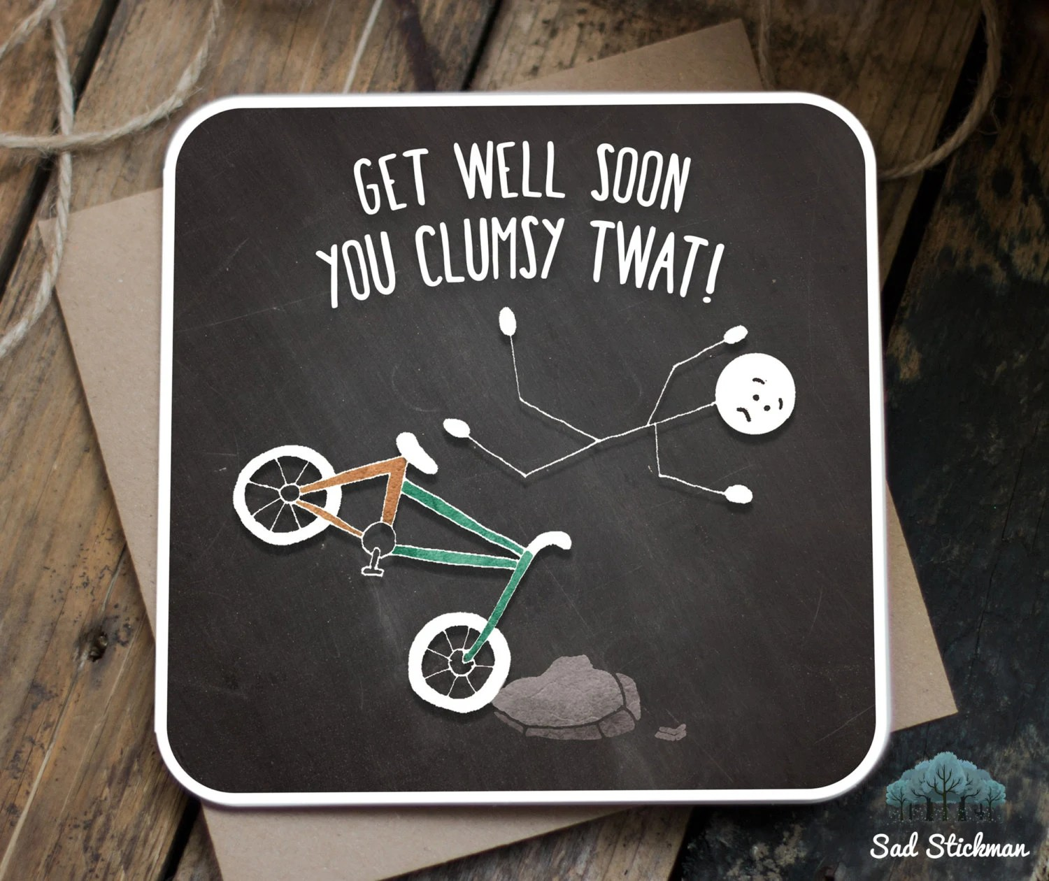Funny Get Well Soon Card Get Well Soon Funny By