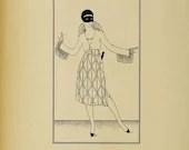 Art Deco Flapper Lady #1 ...