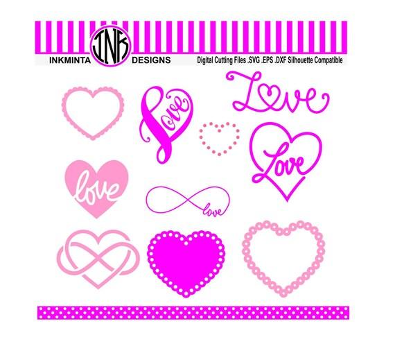 Download Heart SVG File infinity svg love svg digital download files