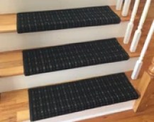 3 Colors - Carpet Stair Tread – Grand Central - Beaulieu - Scotchgard - Pet Dog Cat- Odor Eliminator- Magic Fresh (Sold Each)
