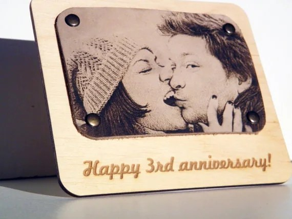 Six Anniversary Gift Sixth Wedding Anniversary Presend 6th