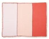 Colorblock Crochet Blanke...
