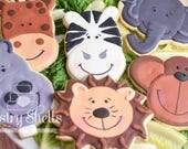 Zoo Animal Sugar Cookies,...