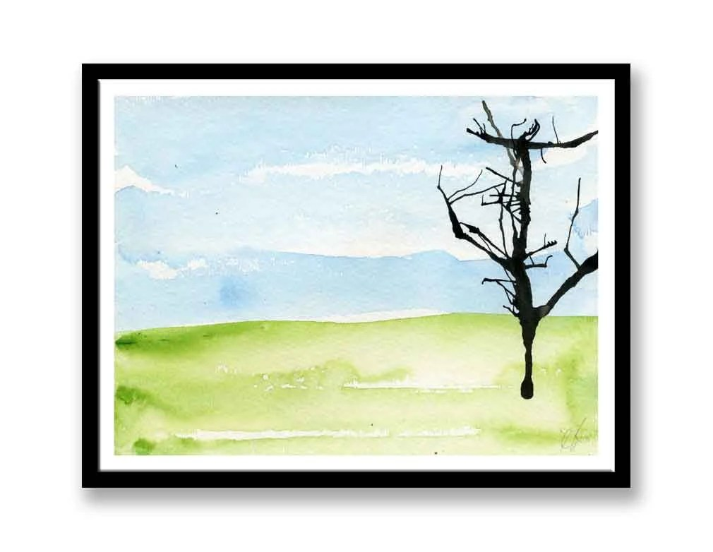 Tree and Landscape Painti...