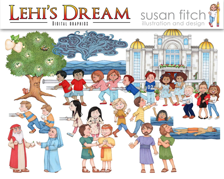 Lehi S Dream Digital Clip Art